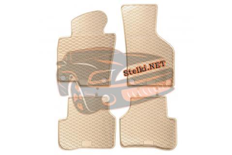 Гумени стелки Geyer & Hosaja за Volkswagen Passat B6 / B7 (2005-2014) - Бежови